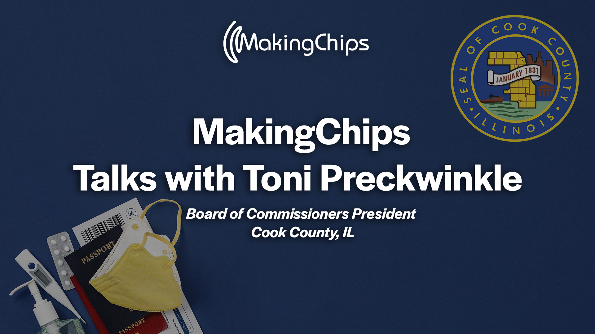 MakingChips talks with Cook County Board President Toni Preckwinkle