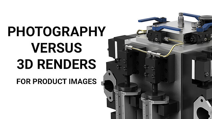 Photography vs 3D Renderings