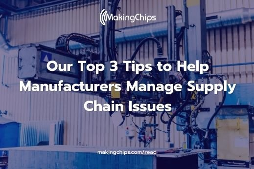 Manage Supply Chain Issues