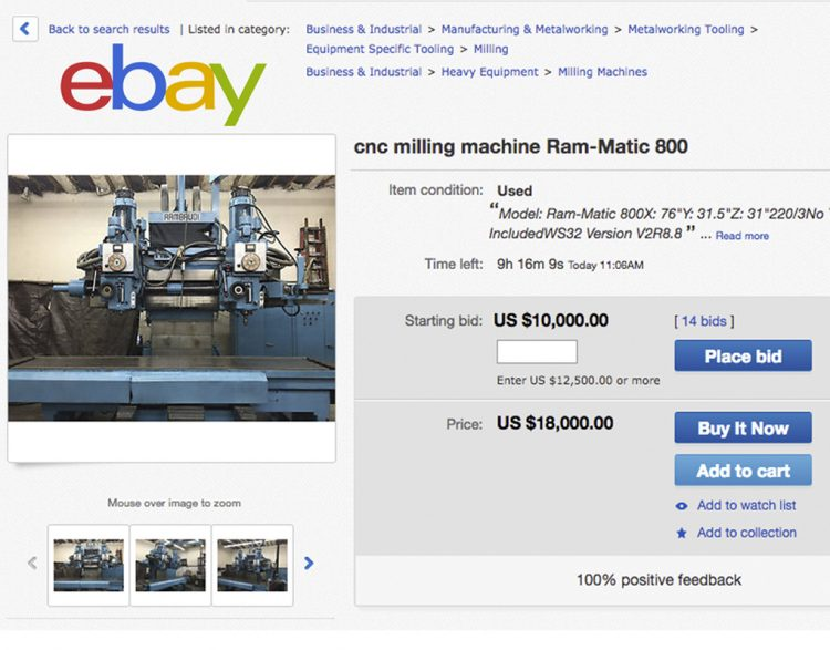Creating a Successful eBay Campaign for your Machine Tool