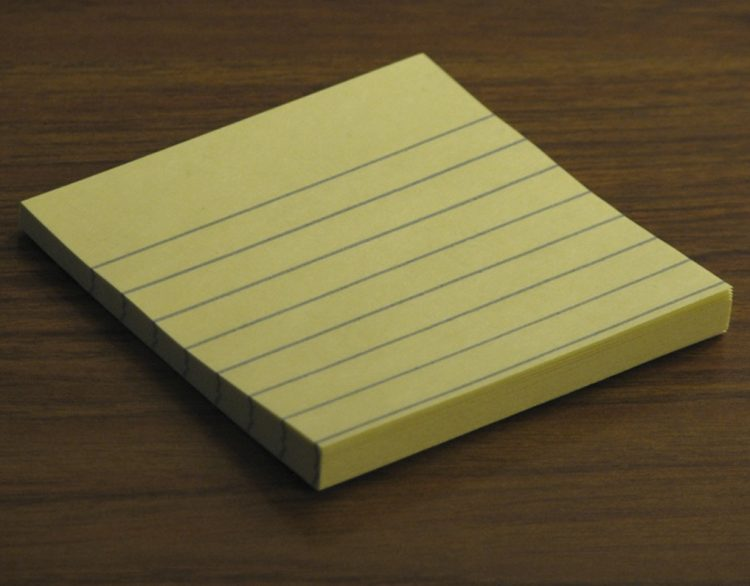 3 Questions – Your Corporate Vision on a Post It Note