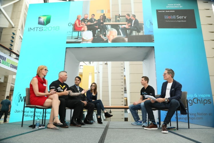 IMTS Panel Discussion on Solving the Skills Gap with Jess Giudici, Titan Gilroy, Federico Sciammarella, and Toni Neary